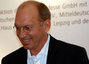 Jürgen Neffe auf der Leipziger Buchmesse - Foto © Amrei-Marie - CC-BY-SA-3.0-de Wikimedia Commons